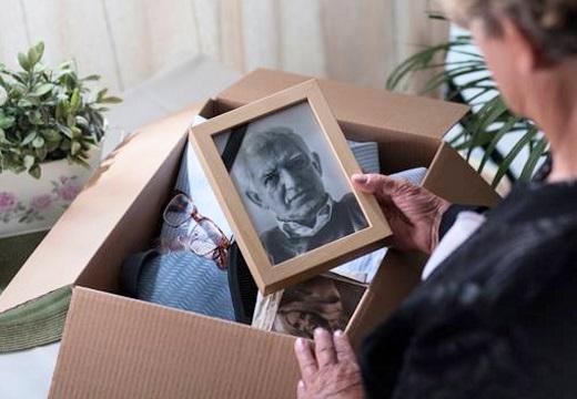 вещи умершего родственника