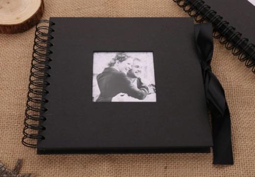 черный фотоальбом