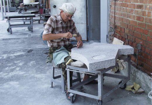 изготовление гранитной крошки