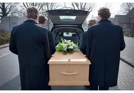 гроб в авто
