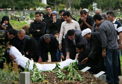мусульмане хоронят покойника