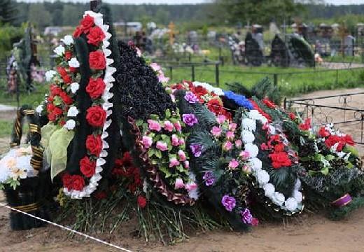 венки на могиле