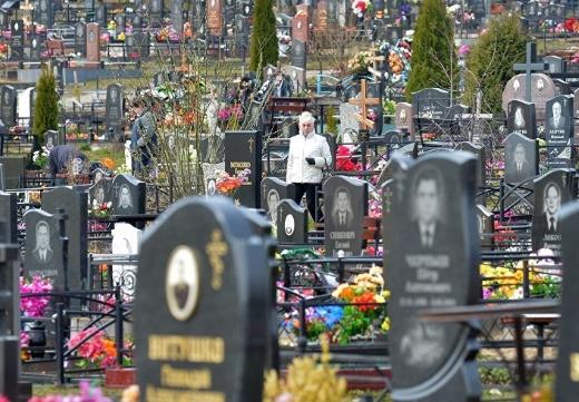 большое кладбище