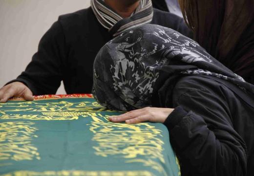 мусульманка у гроба