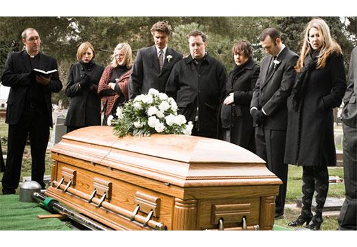 Похороны и гости
