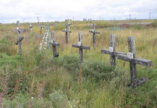 кладбище заключенных гулаг