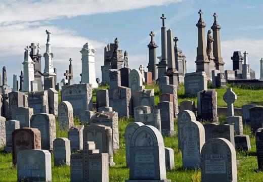 кладбище в европе