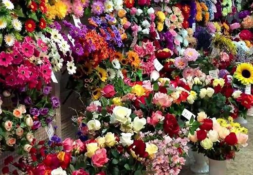 Огромный выбор цветов