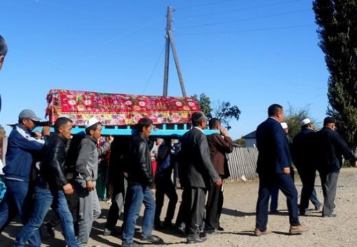 траурная процессия казахстан