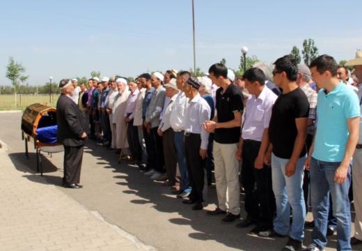 похороны в казахстане