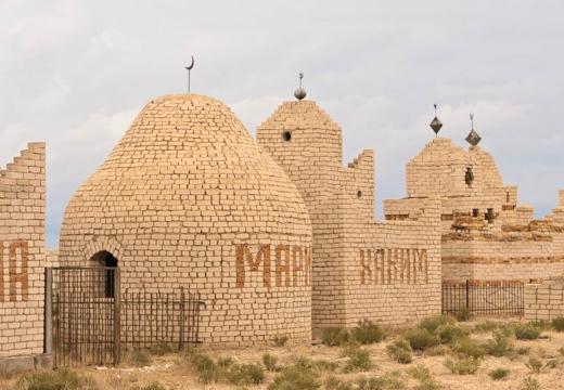казахский могильный склеп