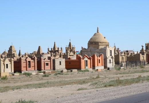 казахстанское кладбище