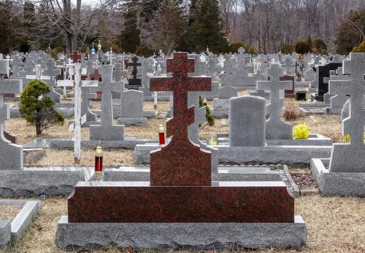 кладбище кресты
