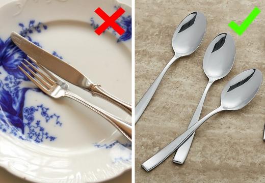 вилки ножи ложки