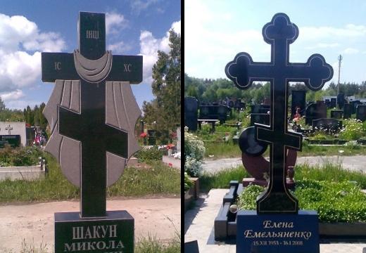 гранитные кресты на могилу