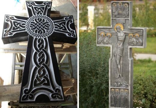 византийские надгробные кресты