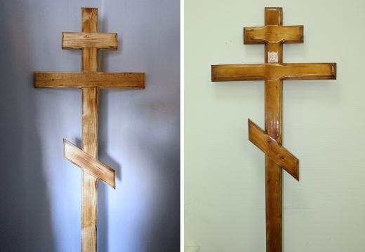 деревянные могильные кресты