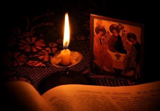 свеча икона