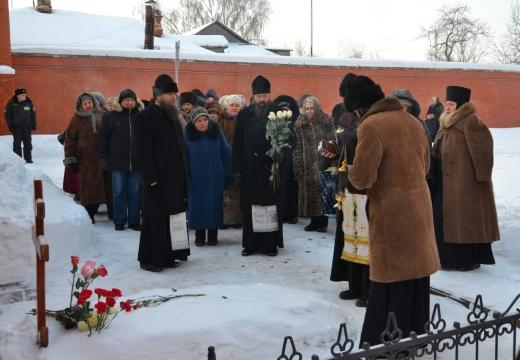 похороны зимой