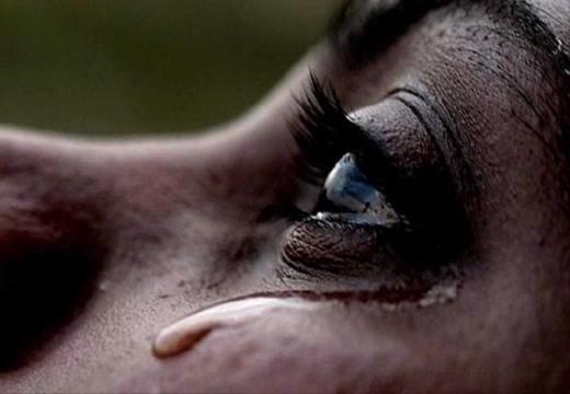 Стекающая слеза