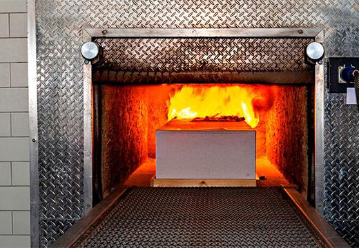печь в крематории