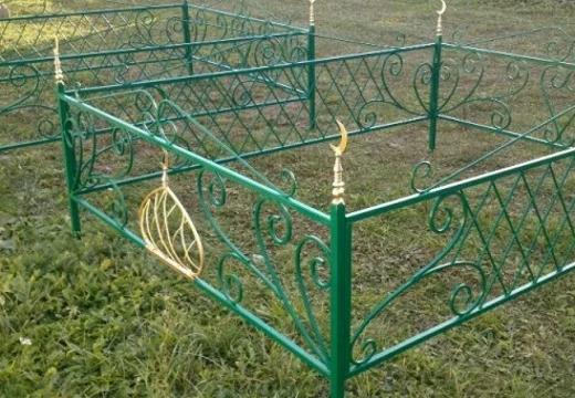 оградка на могилу мусульманина