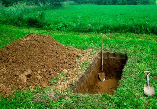 могильная яма