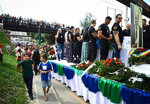 похороны цыганского авторитета