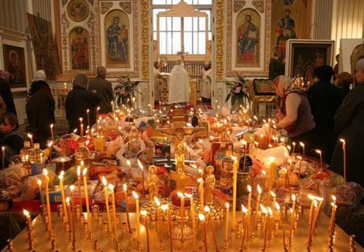 литургия в Родительскую субботу