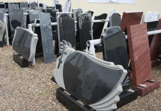 разные могильные памятники