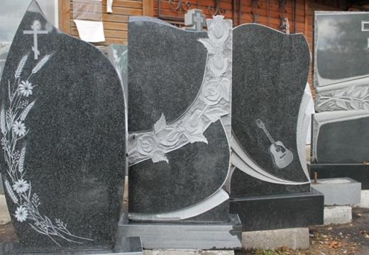 образцы могильных памятников