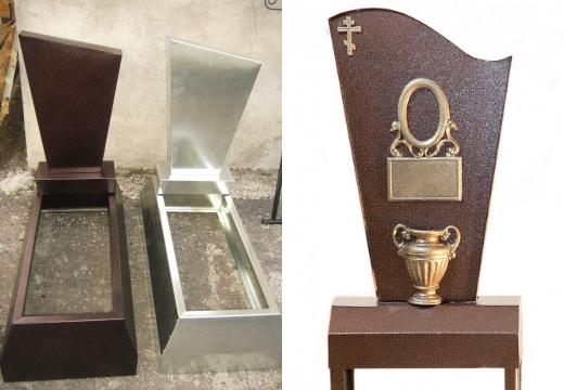 железные памятники на могилу