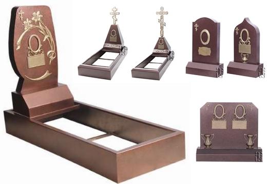 варианты памятников из металла
