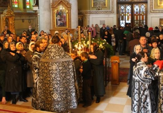 литургия в церкви