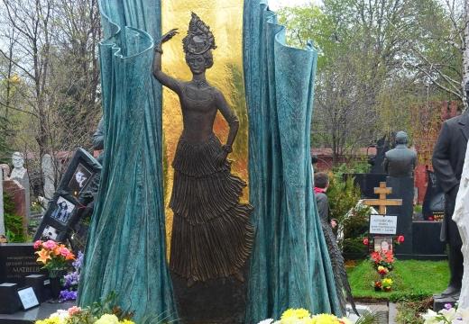 скульптура на могиле шмыгиной