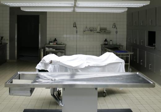 тело в морге