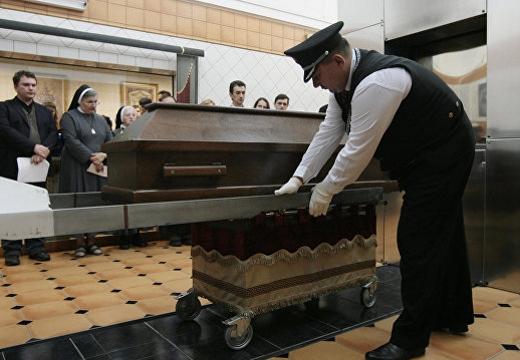 процедура кремации
