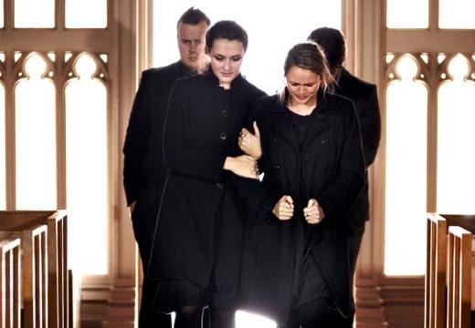 женщины в черном похороны