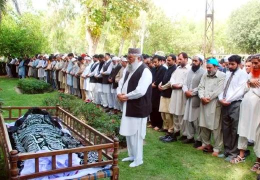 мулла на похоронах