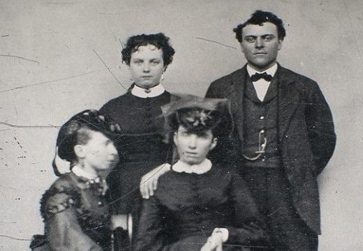 фото умершей с семьей