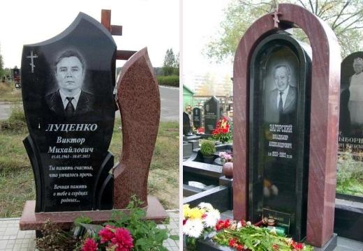 мужские памятники на могилу