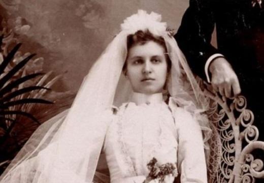 невеста фото постмортем