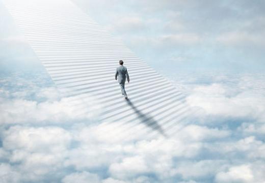 душа уходит на небо