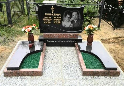 двойной могильный памятник