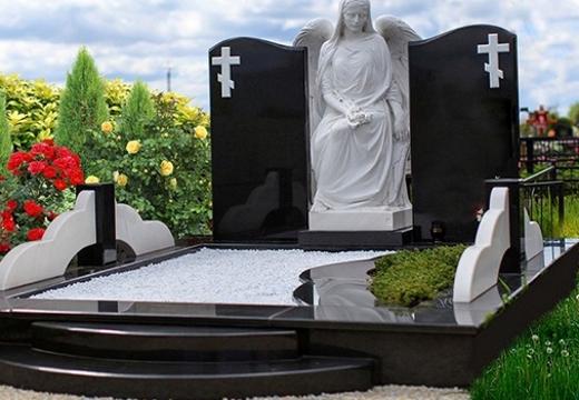 двойное семейное надгробье