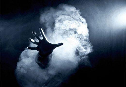 рука из тумана