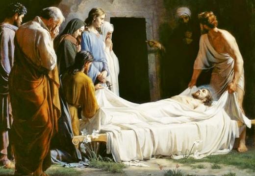 погребение иисуса