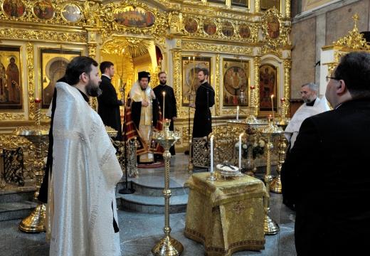 православная панихида церковь