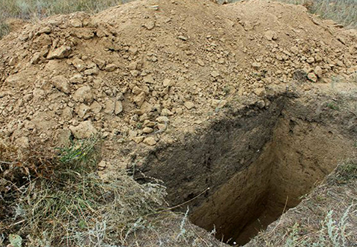 Готовая могила