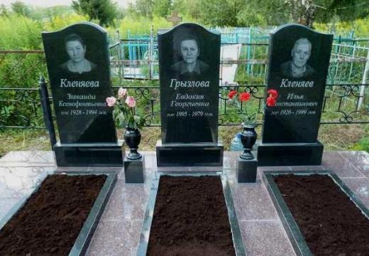 классические надгробные памятники